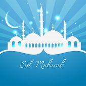 islam religion festival design background poster