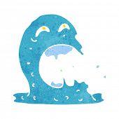 cartoon gross ghost poster