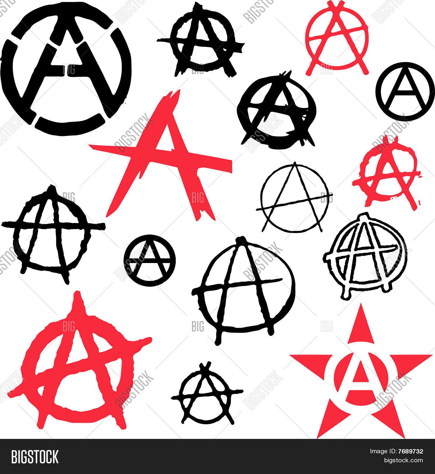 Anarchy symbol icon vector vector photo bigstock anarchy symbol icon vector illustration buycottarizona