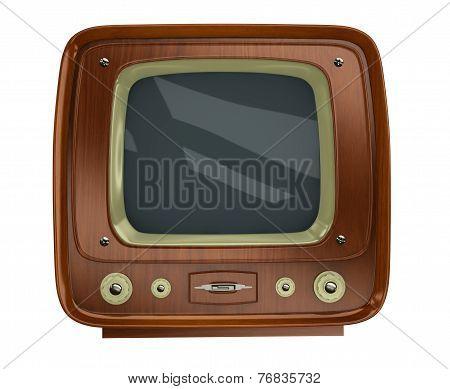 Old Tv Set