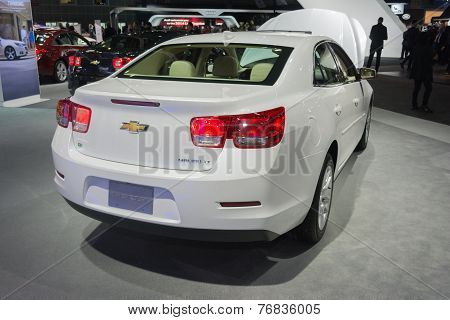 Chevrolet Malibu Lt 2015 On Display
