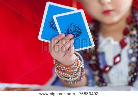 Particular Of Fortune Teller's Cards