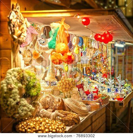 European Christmas Market Stall