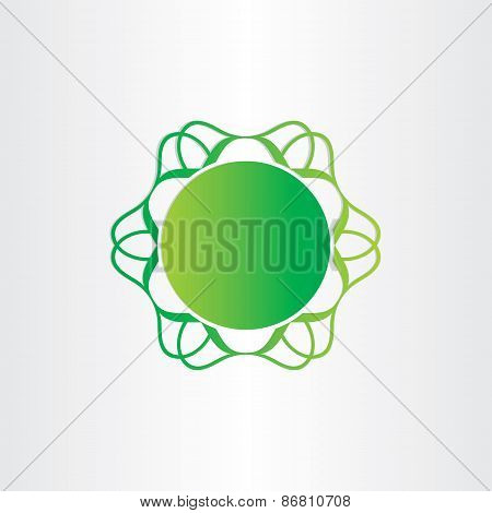 Atom Or Molecule Chemistry Sign Science Icon