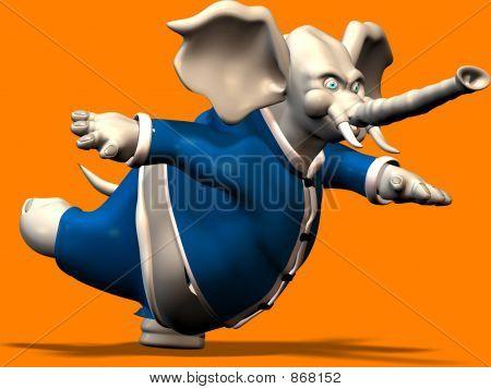 Elefant Ballett 2