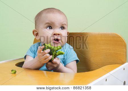 Baby Doesn't Like Broccoli