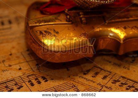 Violine Partitur