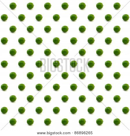Lime Pattern With White Backdrop
