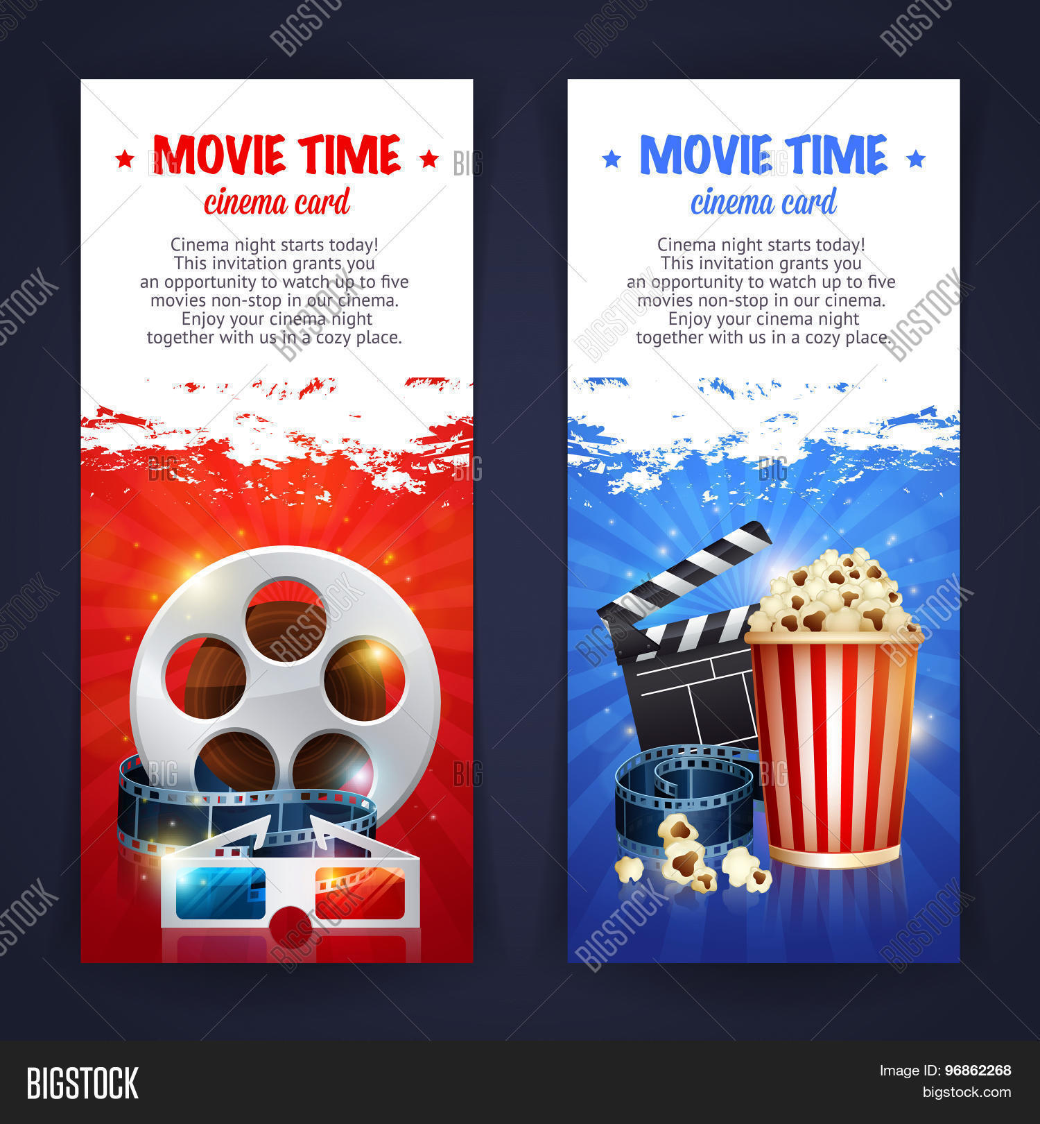 Realistic Cinema Vector Photo Free Trial Bigstock
