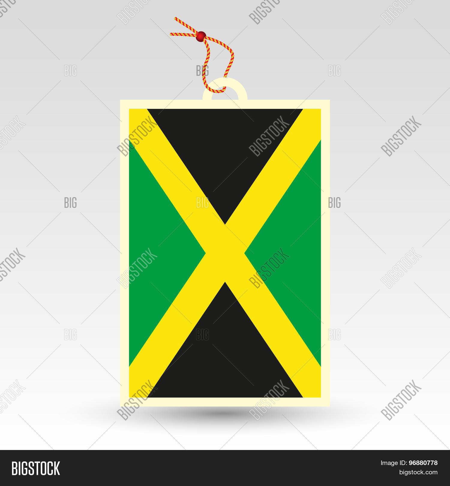 Jamaican Price Tag Vector Photo Free Trial Bigstock