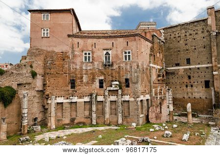 View Of August Forum, Rome