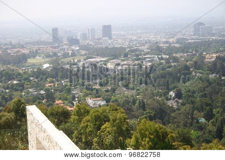 Residential Area Of Los Angeles