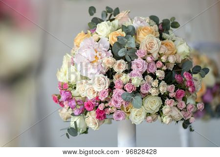 Wedding Posy Of Flowers