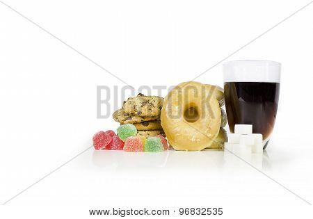 Sugar loaded food