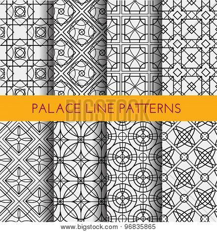 Seamless pattern. Royal pattern vector.