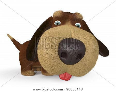 3D Ridiculous Dog