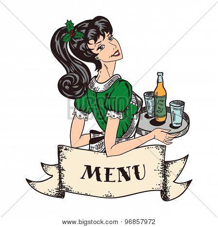 Pin-up Restaurant Vignette