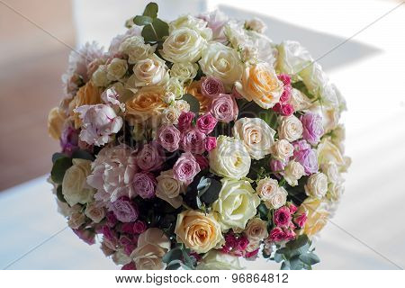 Wedding Nosegay Of Flowers