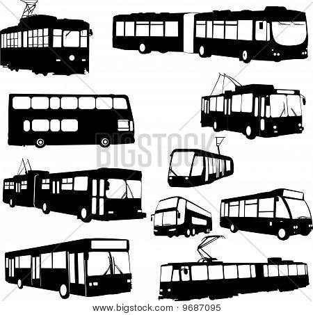 urban transportation - vector