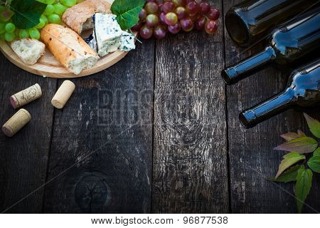 Wine And Food Concept