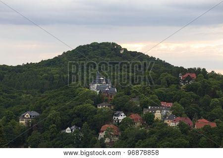 View On Hill Near Eisenach