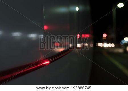 Rope Light At Night