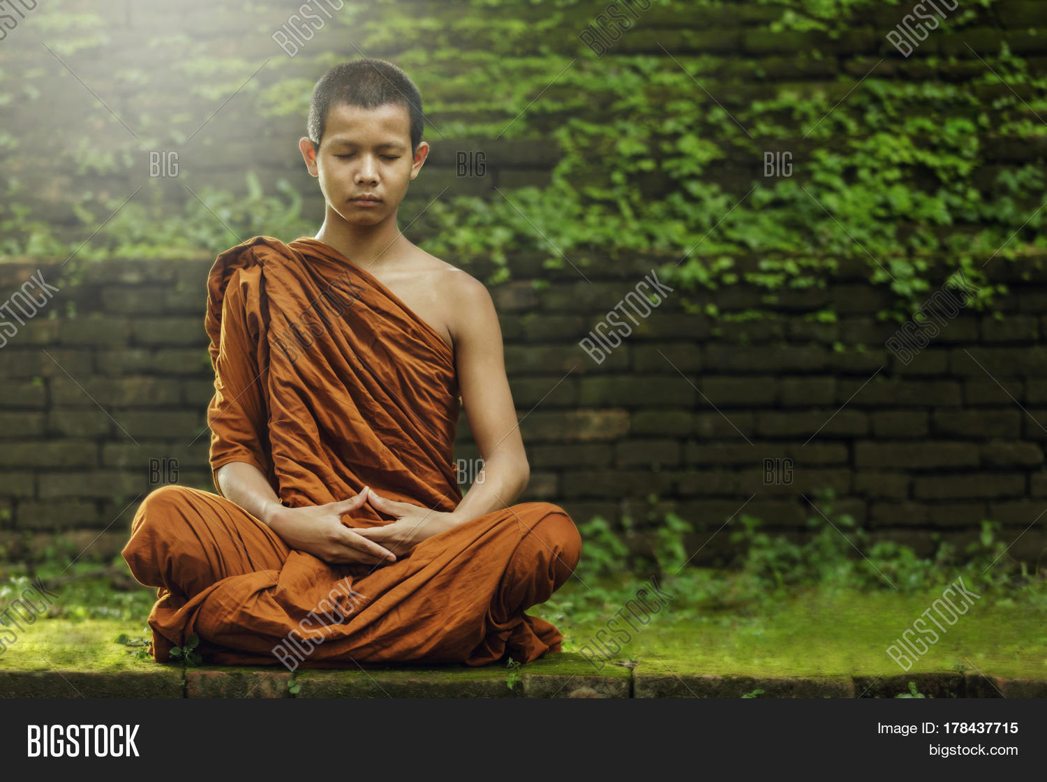 Meditating Monk Www Pixshark Com Images Galleries With