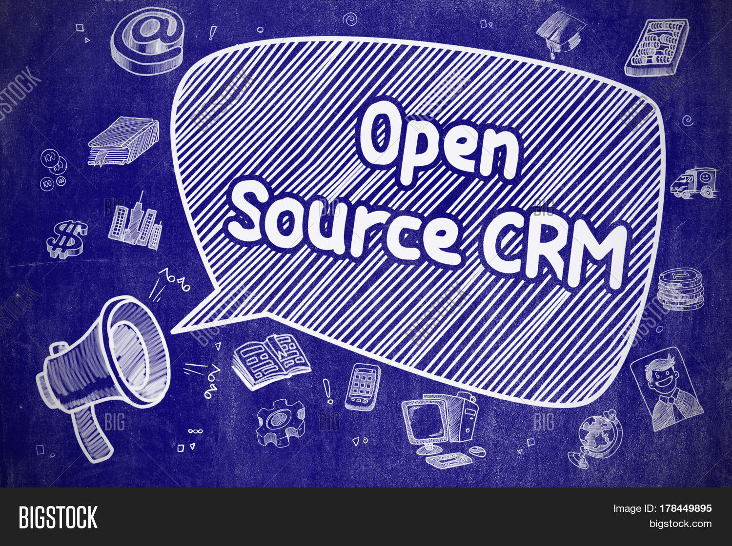 Open Source CRM On Image & Photo (Free Trial) | Bigstock