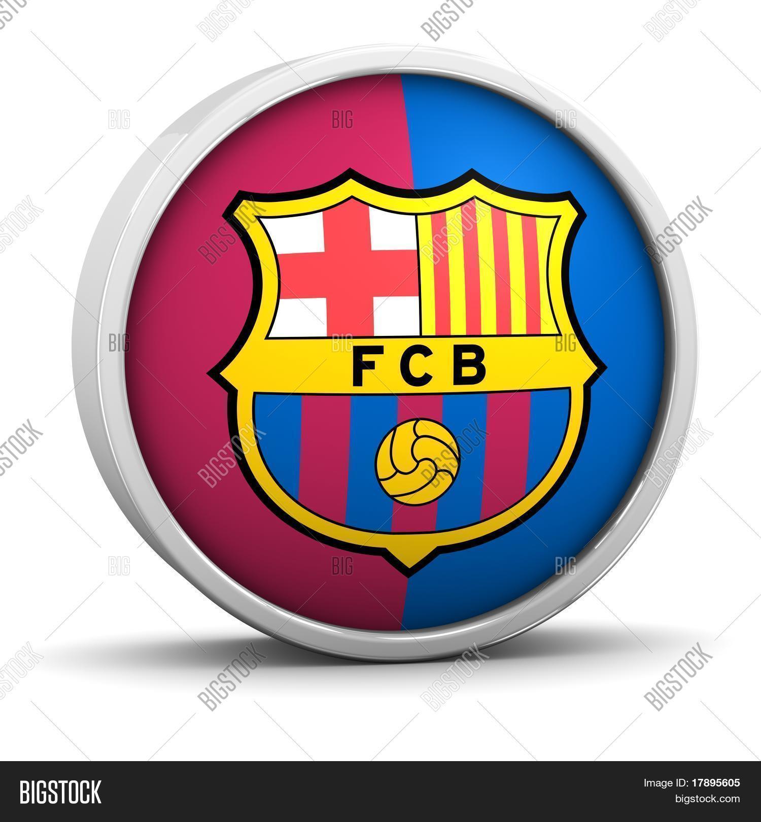 Barcelona Symbol Round Image Photo Free Trial Bigstock