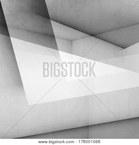 Abstract Digital White Background, Concrete