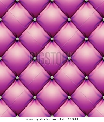 Quilted Pattern Vector. Squares Decorative Background Abstract Soft Texture. Vector