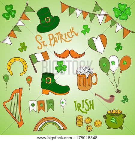 St. Patrick S Day Holiday Greeting Card