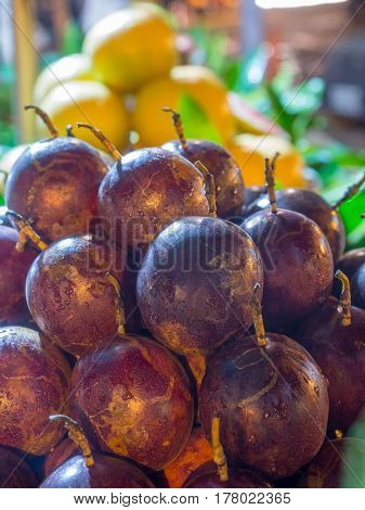 Sweet Granadilla, Exotic Fruit