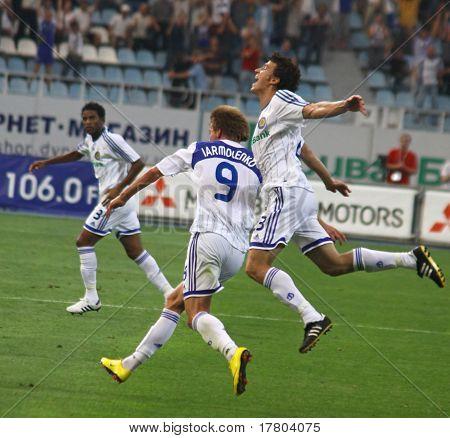 FC Dynamo Kyiv players