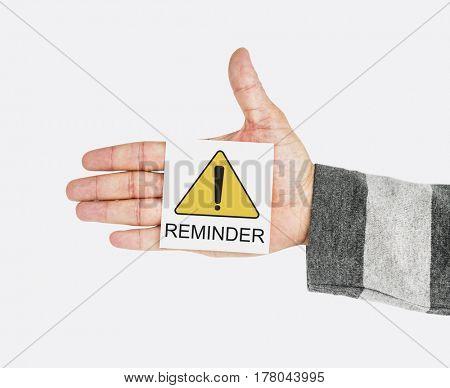 Reminder Alert Attention Critical Error Notice