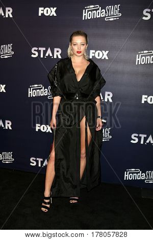 LOS ANGELES - MAR 14:  Caroline Vreeland at the celebration of the music for FOX's new series 'Star' at iHeartRadio Theater on March 14, 2017 in Burbank, CA