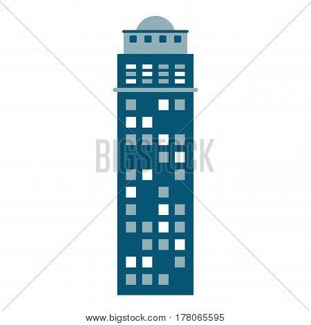 building urban skyscraper vector illustration eps 10