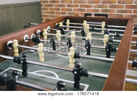 Soccer table with Table football game Soccer