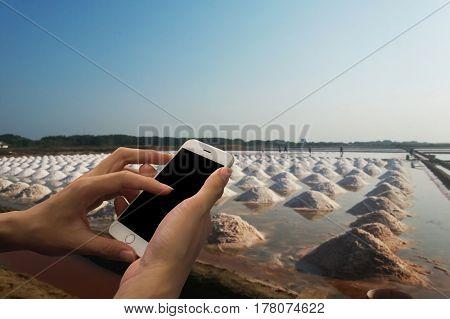 blurred photo, Blurry image, Mass of salt, background