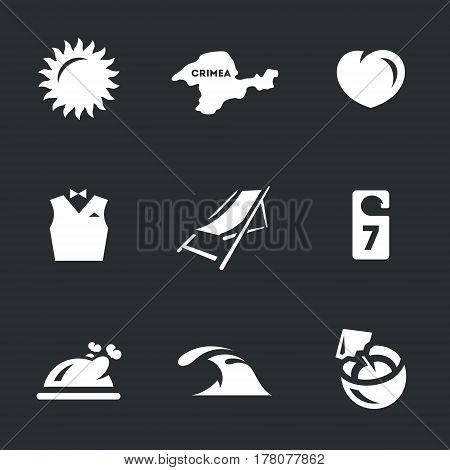Sun, crimea, heart, vest, lounger, room, food, sea, coconut.