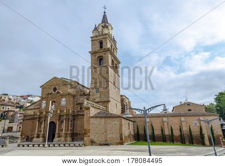Cathedral of St. Mary's Cathedral in Calahorra La Rioja Spain