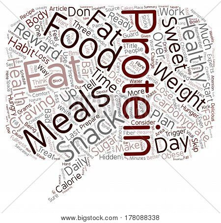 Eat Your Way to Weight Loss text background wordcloud concept