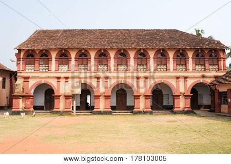 Santa Cruz Secondary School At Fort Cochin On India