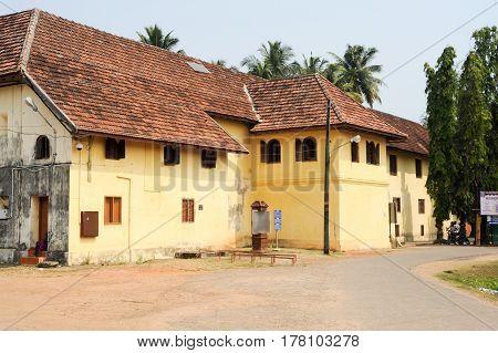 Fort Cochin, India - 16 January 2015: The Mattancherry palace a Cochin on India