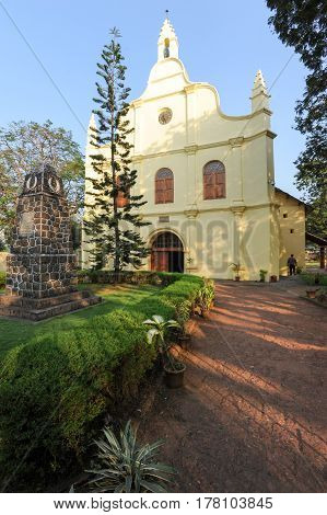 St. Francis Church Is The Oldest Built On India