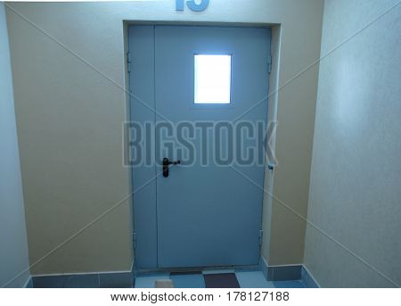 Fireproof or fire resistance door for security inside