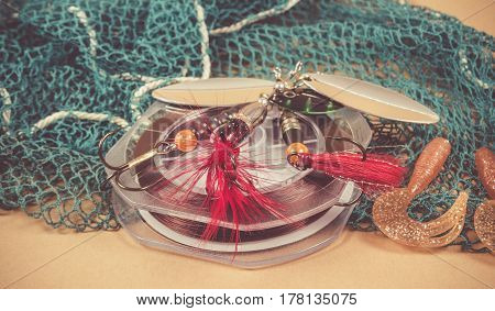 Accessories For Fishing. Fishing Baits.