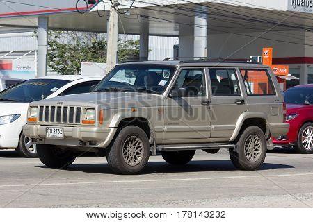 Private Jeep 4X4 Cherokee Car.