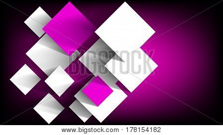 Purple squares abstract background - Vector. EPS 10.