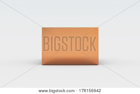 Copper Box Tray Side View